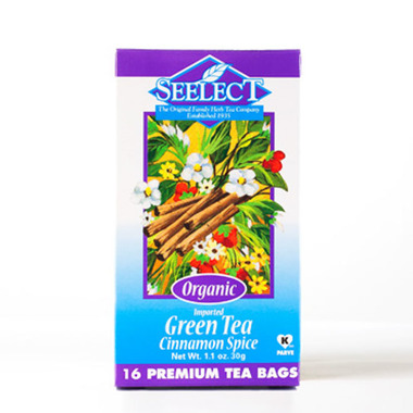 Cinnamon Spice Green Tea, Organic