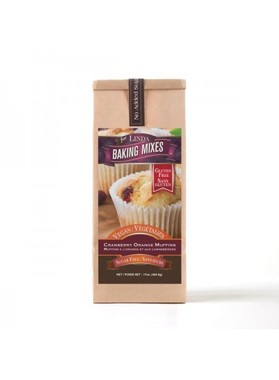 Cranberry orange muffin mix, natural