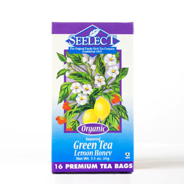 Lemon Honey Green Tea, Organic