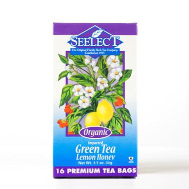 Lemon Honey Green Tea, Organic