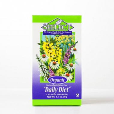 Daily Diet Tea, Premium Loose Organic