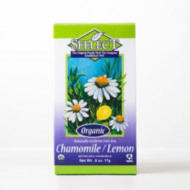 Lemon Chamomile Tea Loose Leaf, Organic