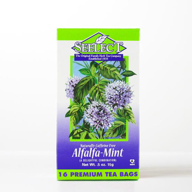Alfalfa Mint Tea