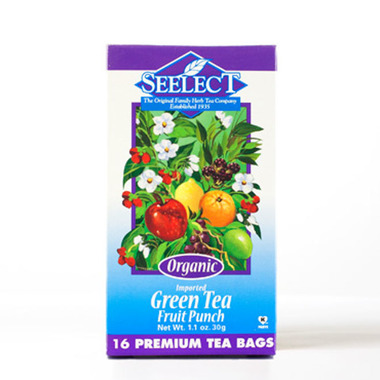 Fruit Punch Green Tea, Organic