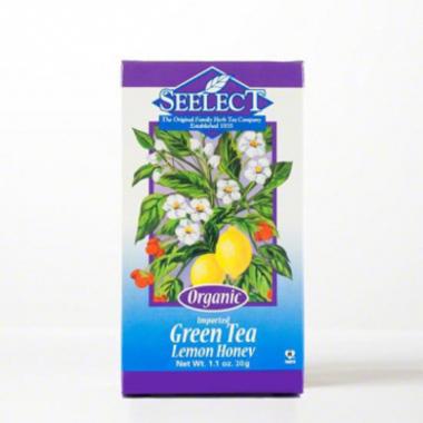 Lemon Honey Green Tea Loose Leaf, Organic