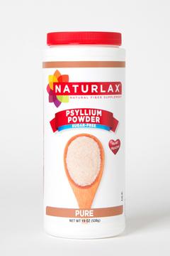 Naturlax Pure Psyllium Husk Fiber Powder
