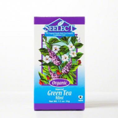 Mint Green Tea Loose Leaf, Organic