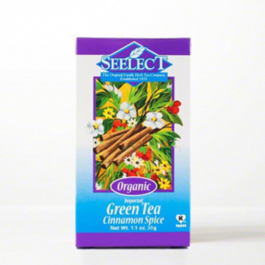 Cinnamon Spice Green Tea Loose Leaf, Organic