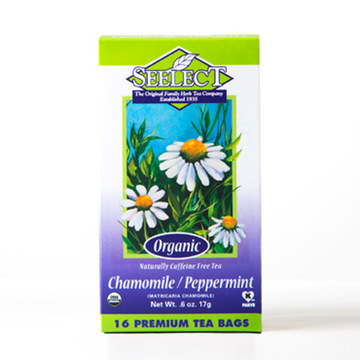 Peppermint Chamomile Tea, Organic