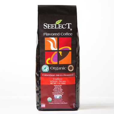 Toffee Flavored Coffee, Organic