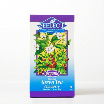 Cranberry Green Tea Loose Leaf, Organic