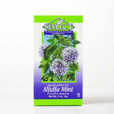 Alfalfa Mint Tea, Premium Loose