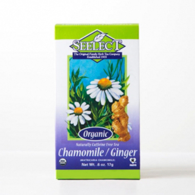Ginger Chamomile Tea Loose Leaf, Organic