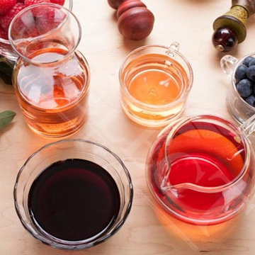 Tea-Berry Syrup