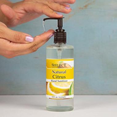 Natural Citrus Hand Sanitizer