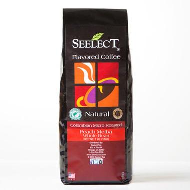 Peach Melba Flavored Coffee