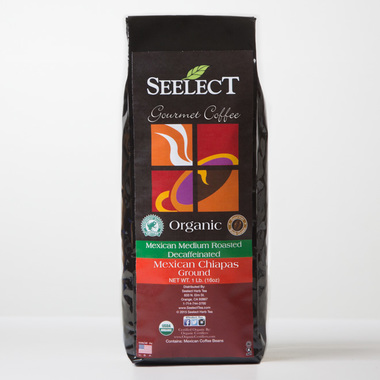 Mexican Chiapas Flavored Decaf Coffee, Organic
