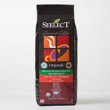 Mexican Chiapas Flavored Decaf Coffee, Organic