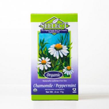 Peppermint Chamomile Tea Loose Leaf, Organic