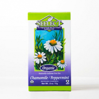 Peppermint Chamomile Tea Loose Leaf, Organic