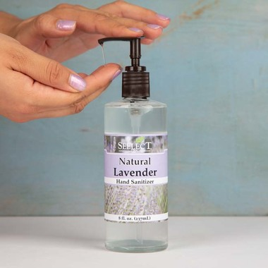 Natural Lavender Hand Sanitizer