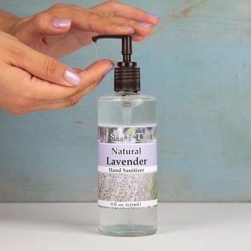 Natural Lavender Hand Sanitizer