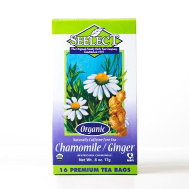 Ginger Chamomile Tea, Organic
