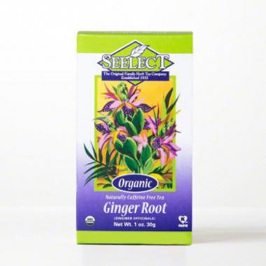 Ginger Root Tea, Premium Loose Organic