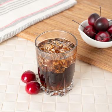 Organic Cherry Cola Coffee Syrup