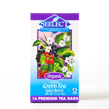 Spice Berry Green Tea, Organic