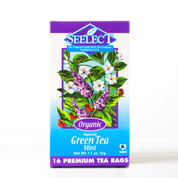 Mint Green Tea, Organic