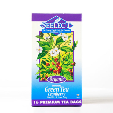 Cranberry Green Tea, Organic