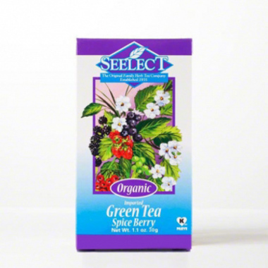 Spice Berry Green Tea Loose Leaf, Organic