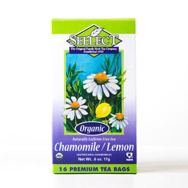 Lemon Chamomile Tea, Organic